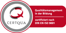 Carl Duisberg Centren is certified according to ISO 9001 standards for Language Courses, Language Travel and International School Programs.